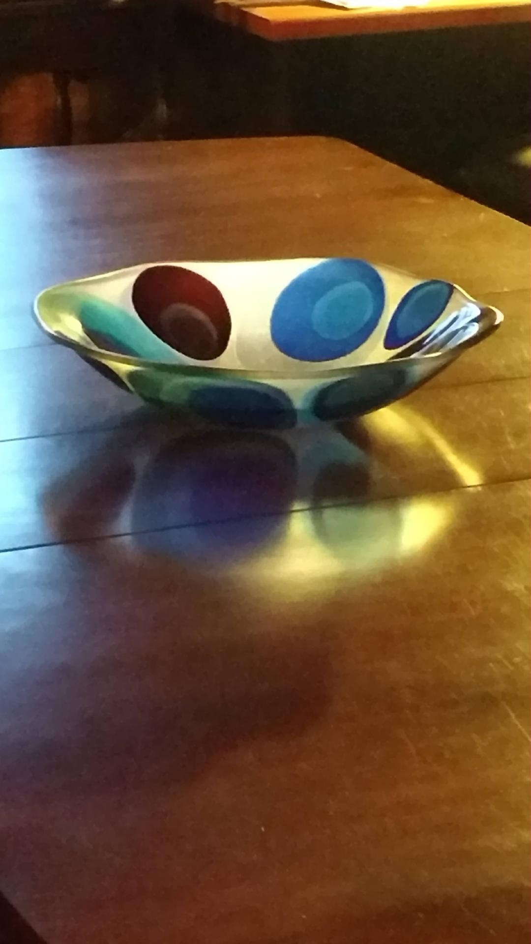 Blue Circle Bowl 2