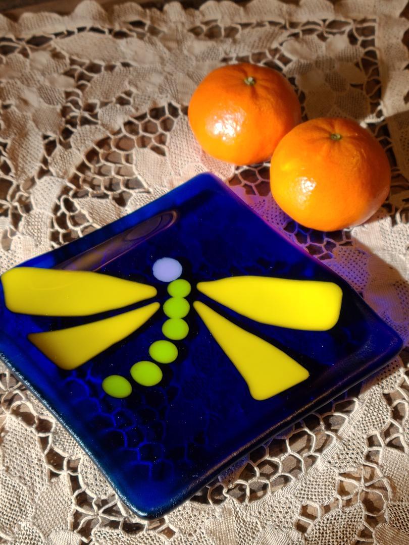 Dragonfly Trinket Plate