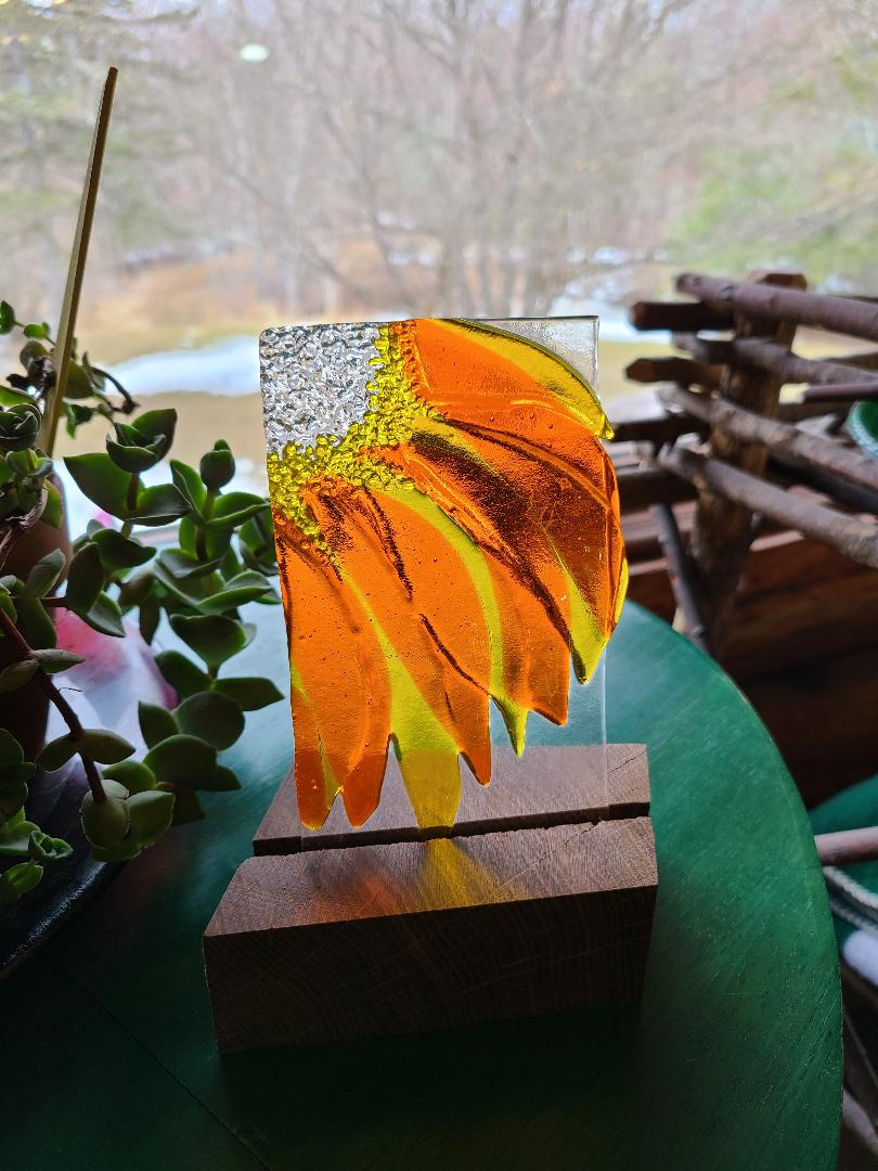 Yellow Orange Sunshine Flower