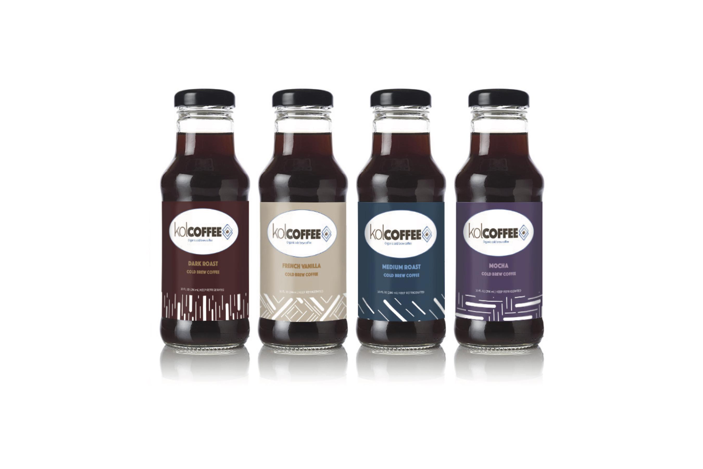 KolCoffee bottles