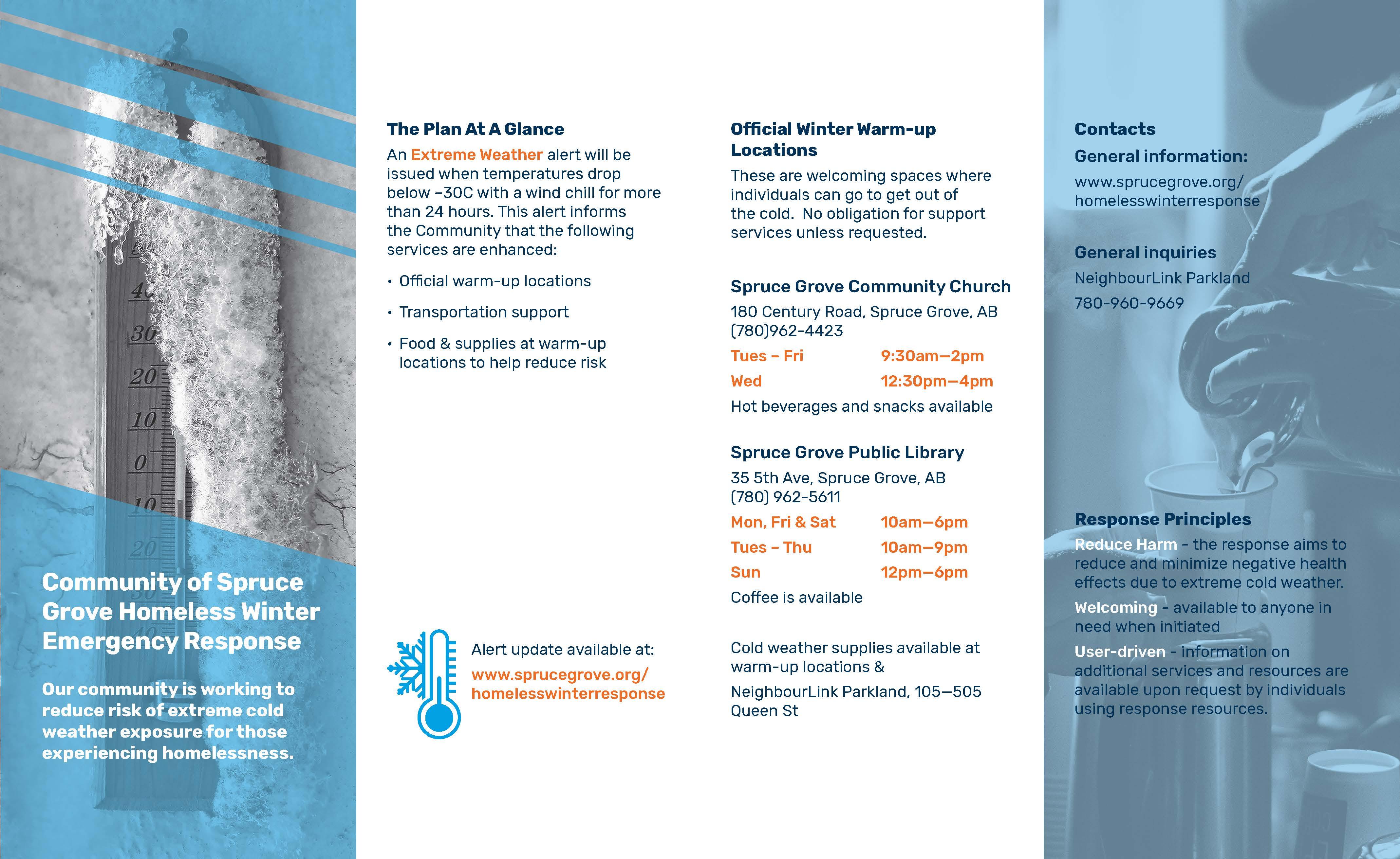 Winter Emergency Brochure