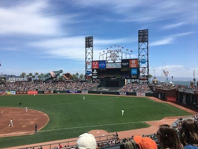 Giants Game at AT&T Park