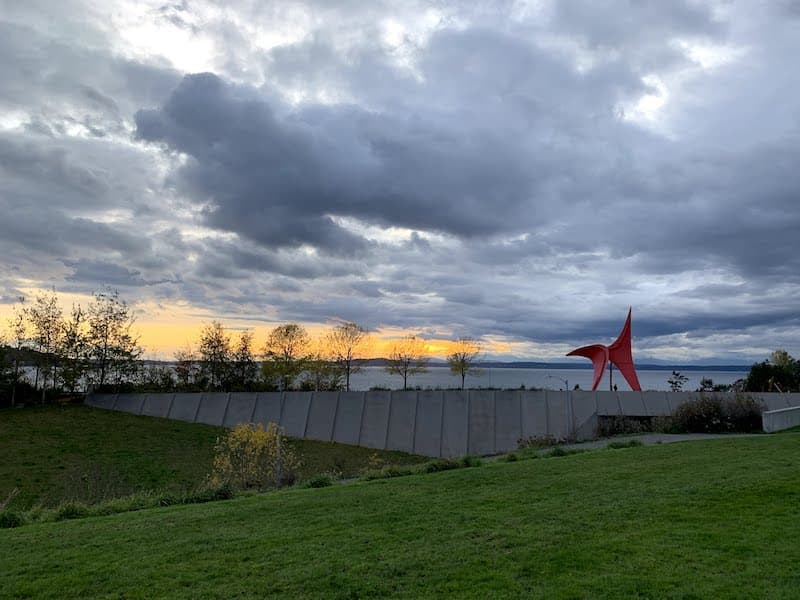 Olympic Sculpture Park Seattle Washington