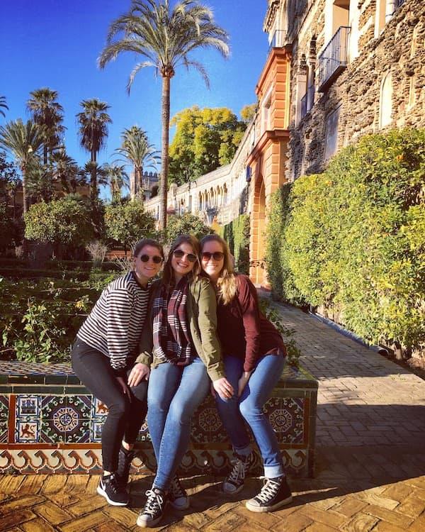 El Alcazar in Seville, Spain