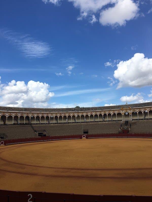 Bull Ring in Seville Spain