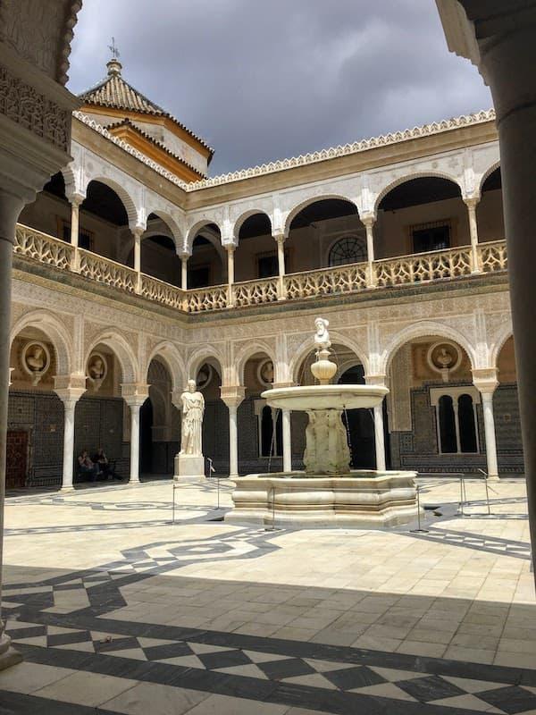 Casa de Pilatos in Seville Spain