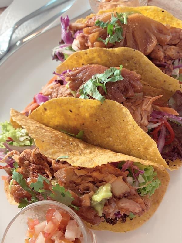 Vegan Jackfruit Tacos Nourish Cafe