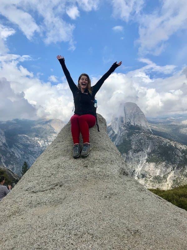 Viewpoint at Yosemite National Park