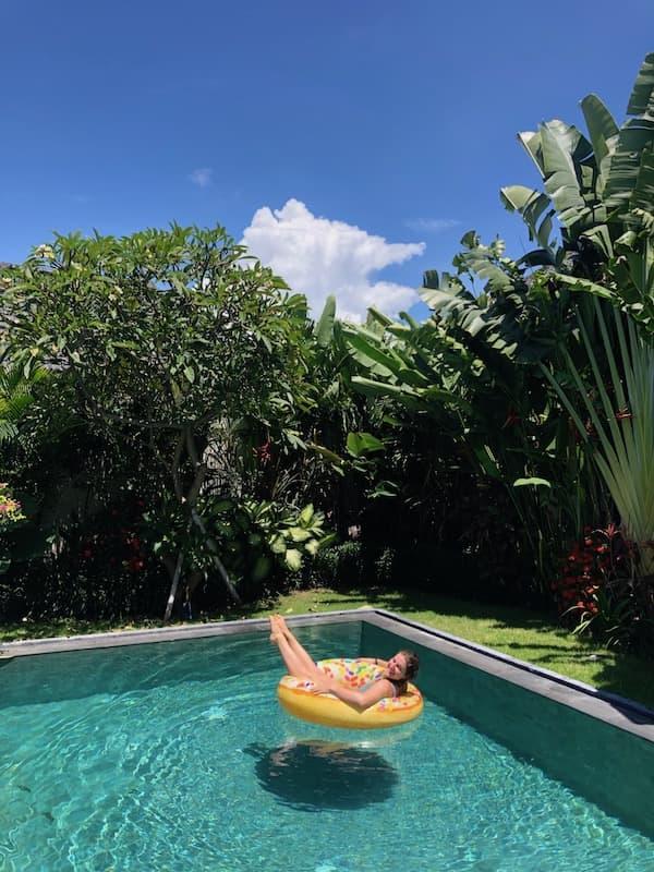 Swimming Pool in Bali Villa