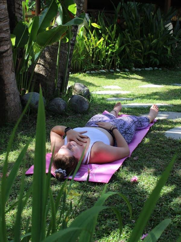 Laying Down Meditation