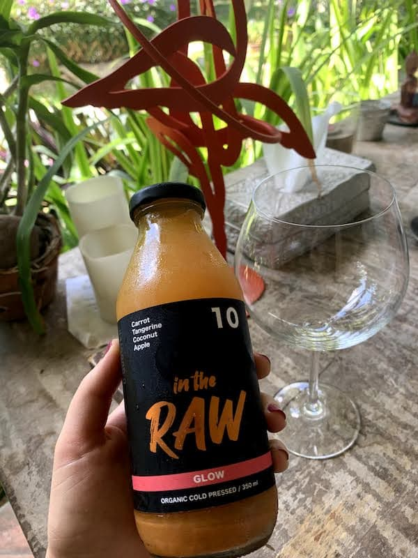 In The Raw Juice Cleanse Bali