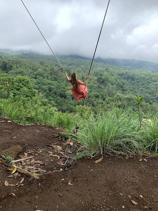 Swinging in Lombok Indonesia