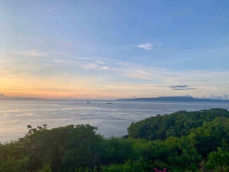 Bali Indonesia Padangbai Bloo Lagoon