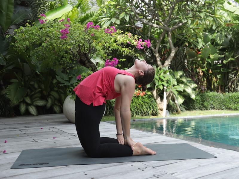 Beginner Yoga Poses Camel