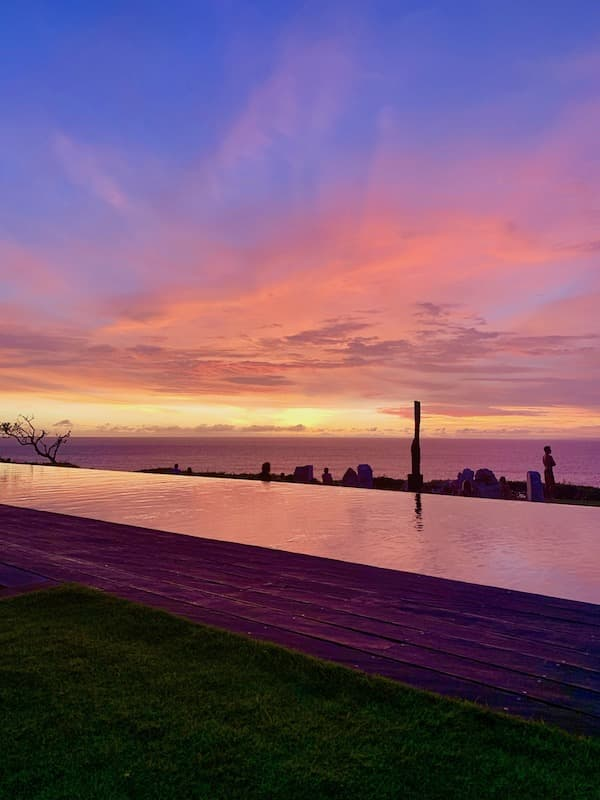 The Istana Sunset View in Bali