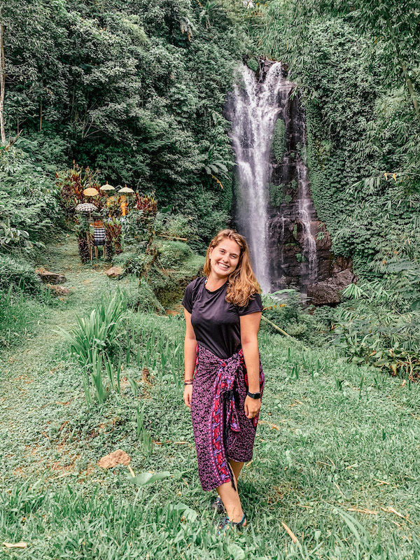 Waterfall in Munduk Bali Indonesia