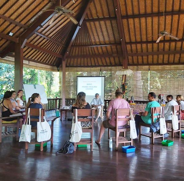 Pranic Healing Course Ubud Bali Indonesia