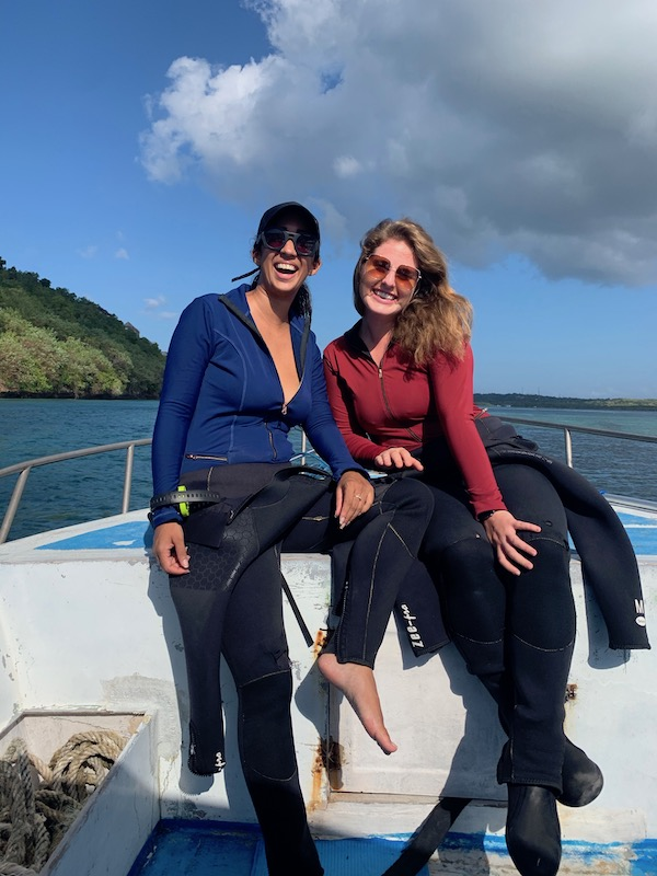 Diving in Nusa Penida with Real Wear Swimsuits