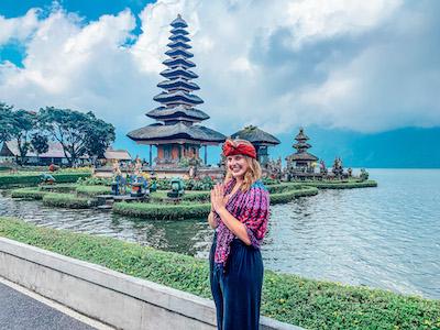 Ulun Danu Temple Indonesian Culture