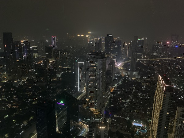View of Jakarta Indonesia from Henshin