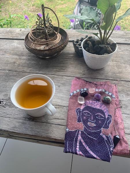 Meditation and Tea Slow Mornings
