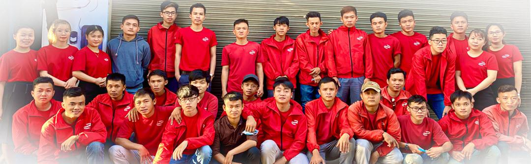 Đội ngũ kỹ thuật tay nghề cao