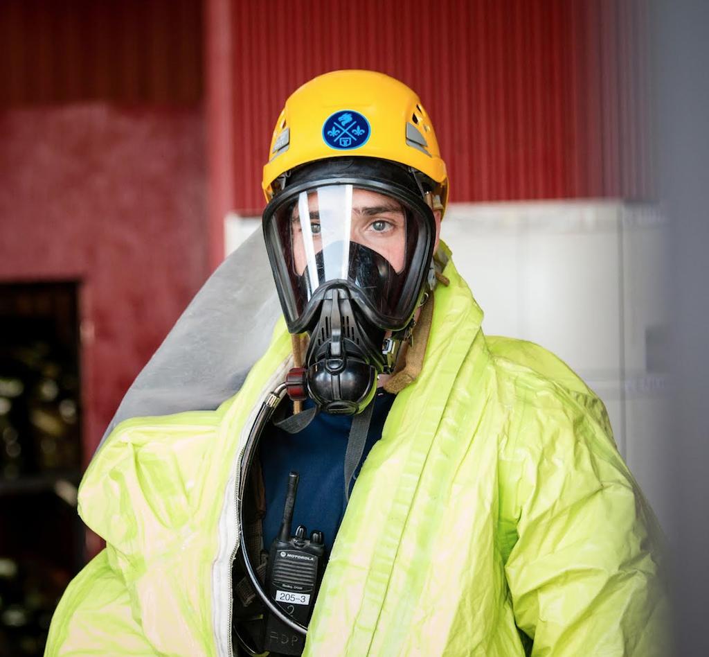 Targe Académie des pompiers