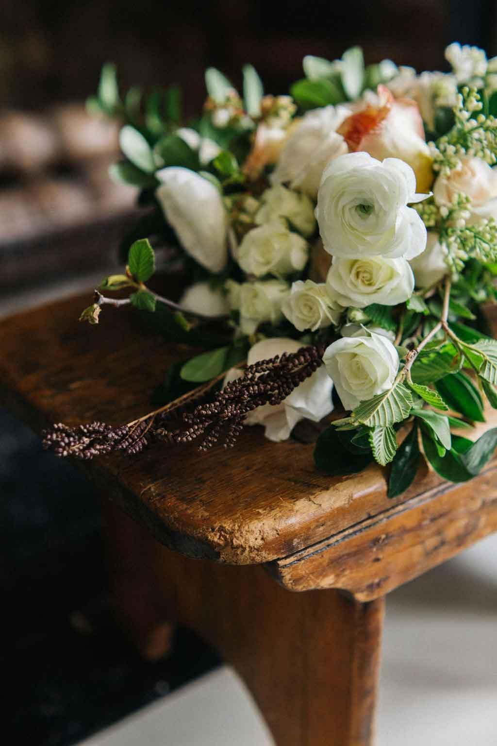 A bride at the Squire Tarbox Inn