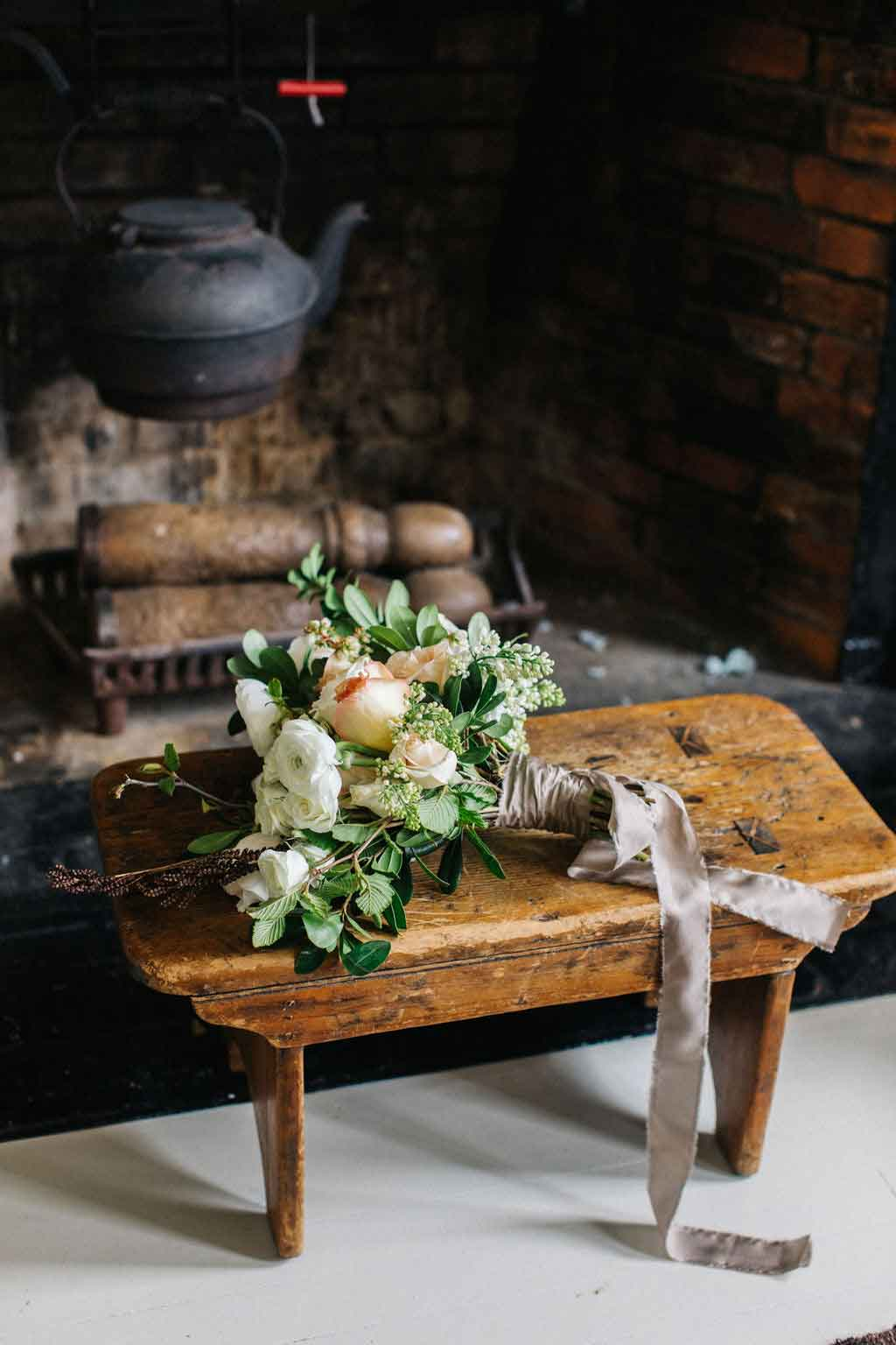 Wedding flowers at the Squire Tarbox Inn