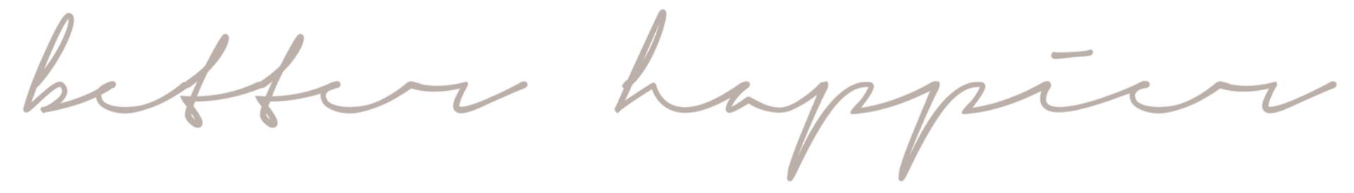 better happier logo