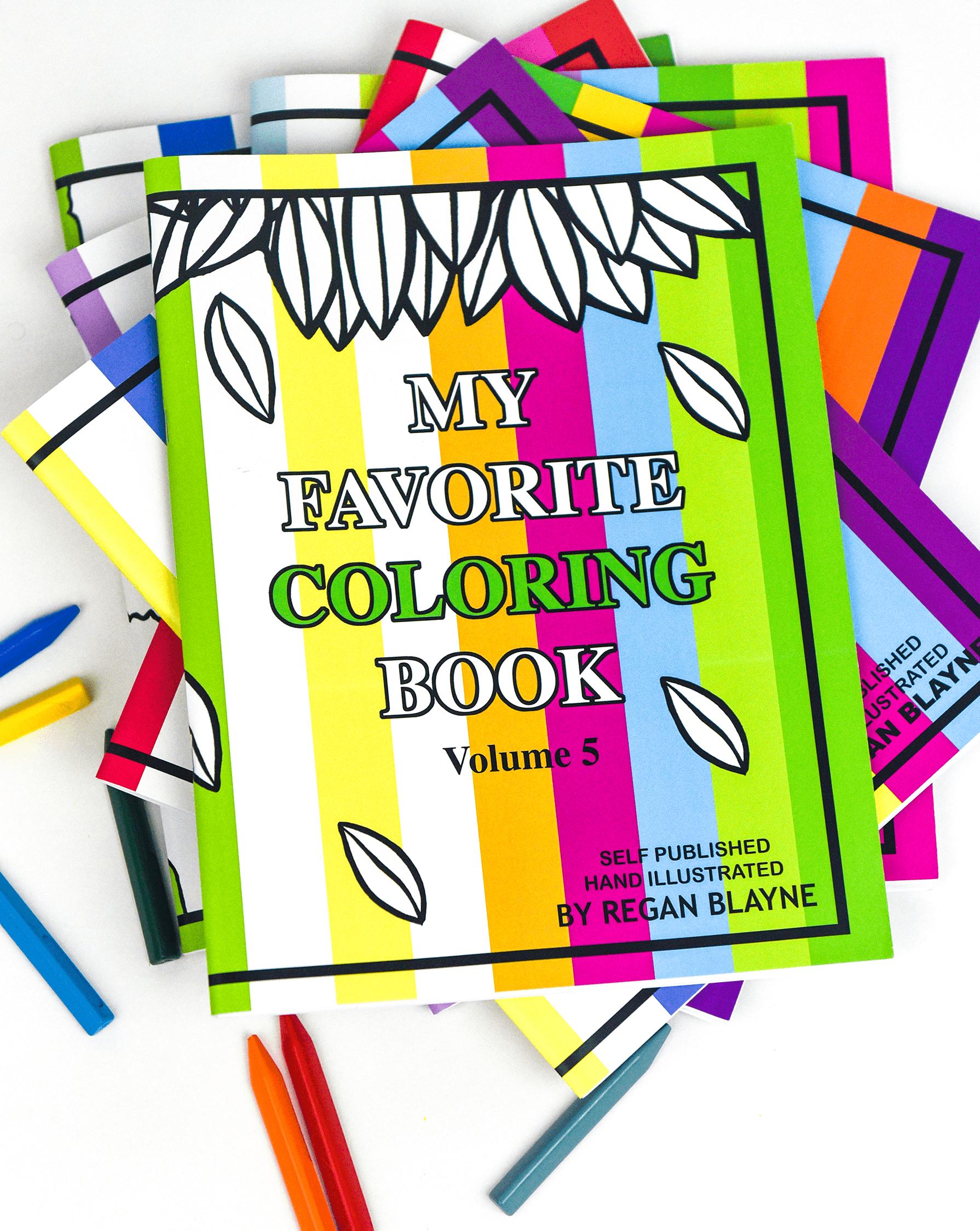 My Favorite Coloring Books