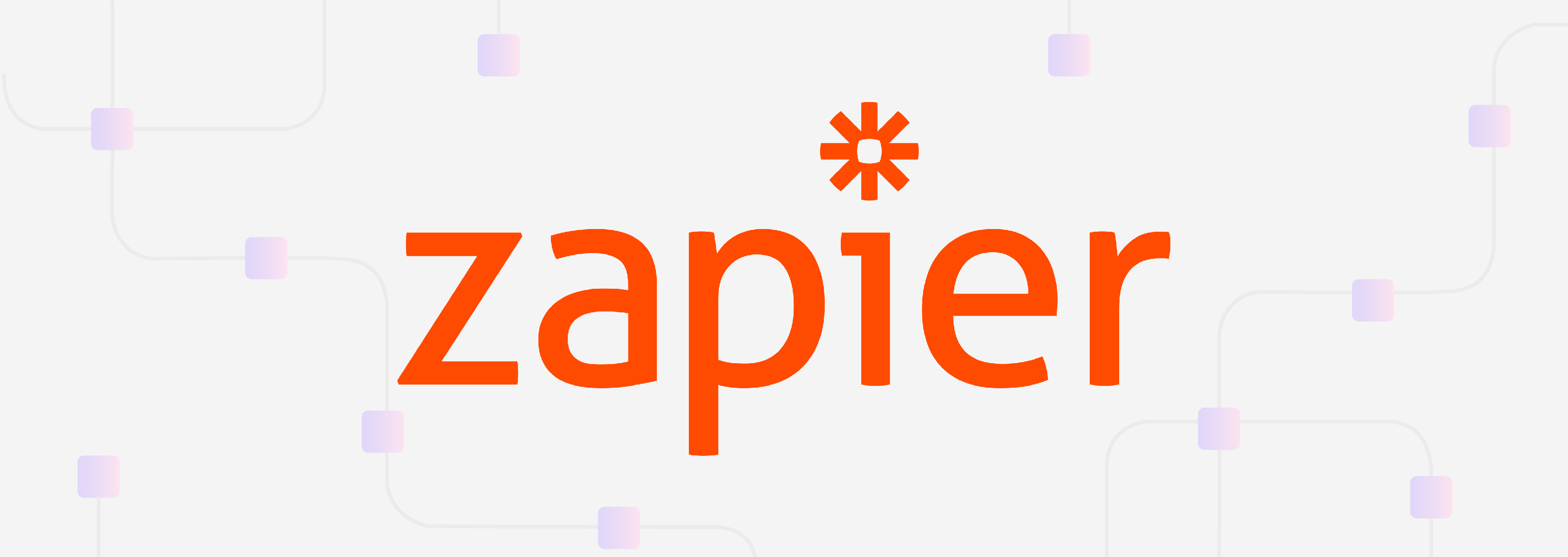 Easy integrations are possible with Zapier
