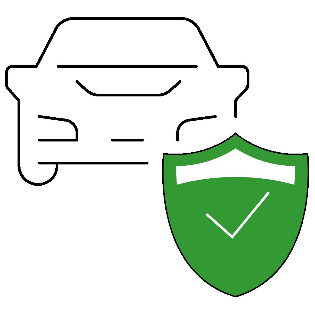 Piktogramm Kfz-Versicherung Autoversicherung