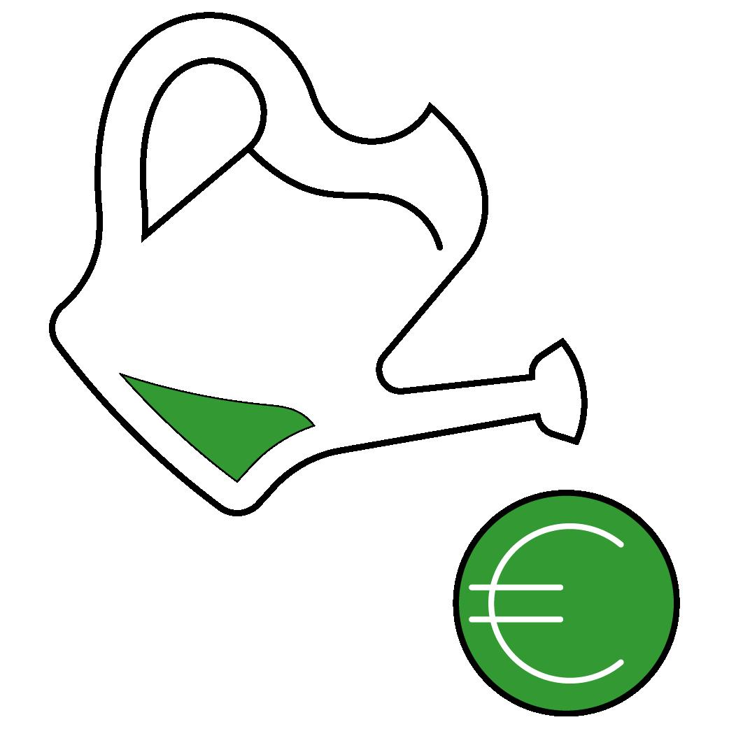 Piktogramm Geldanlage Aktien ETF