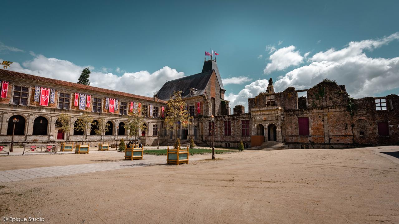 Cour de Château Renaissance