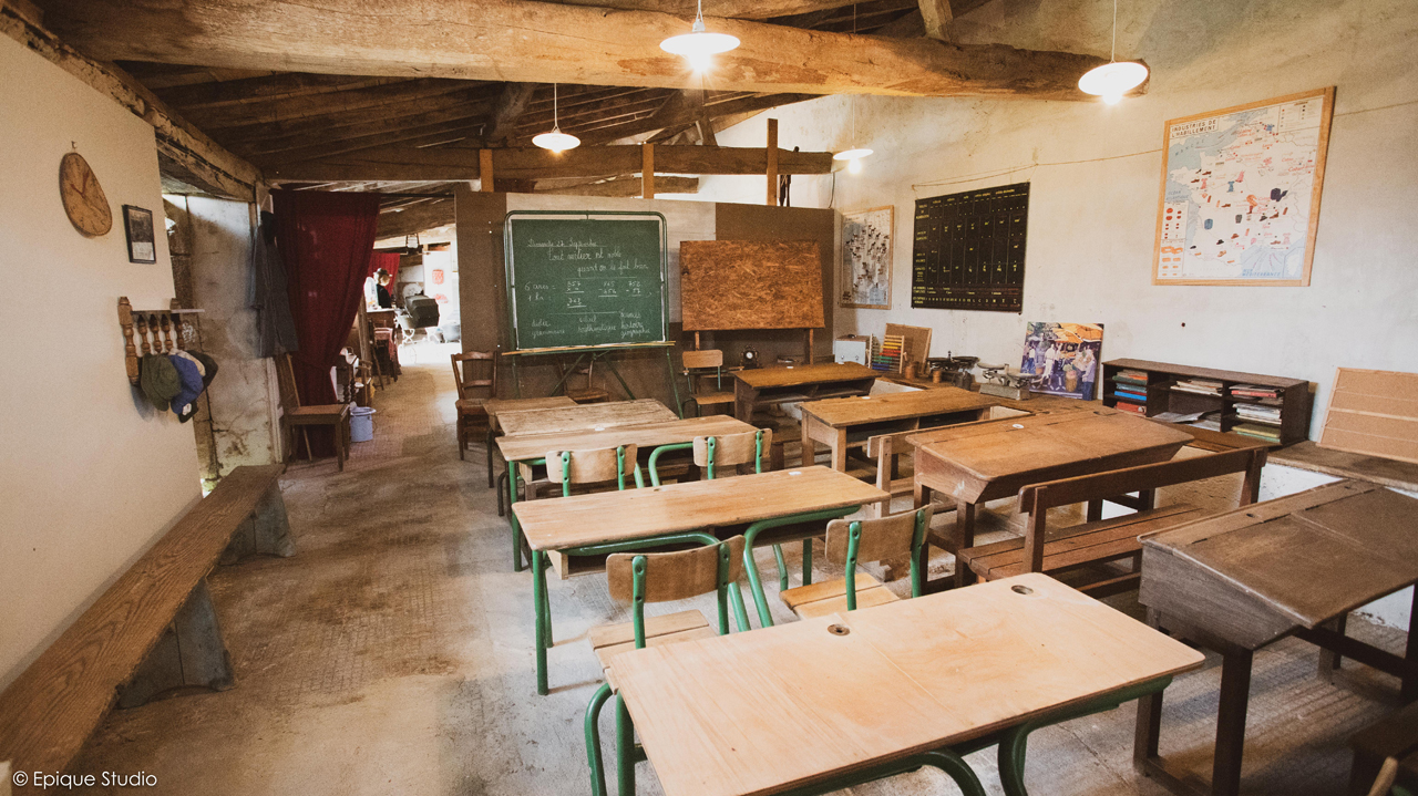 Salle de classe 1950