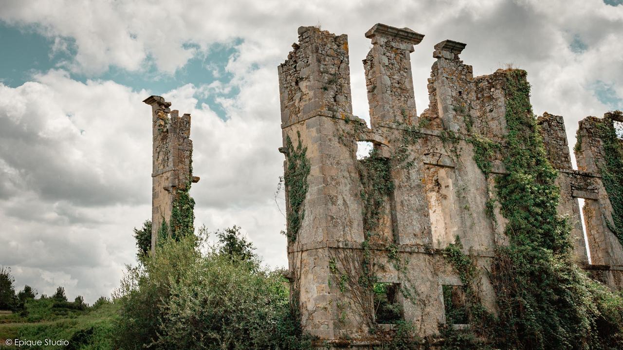 Château en ruines