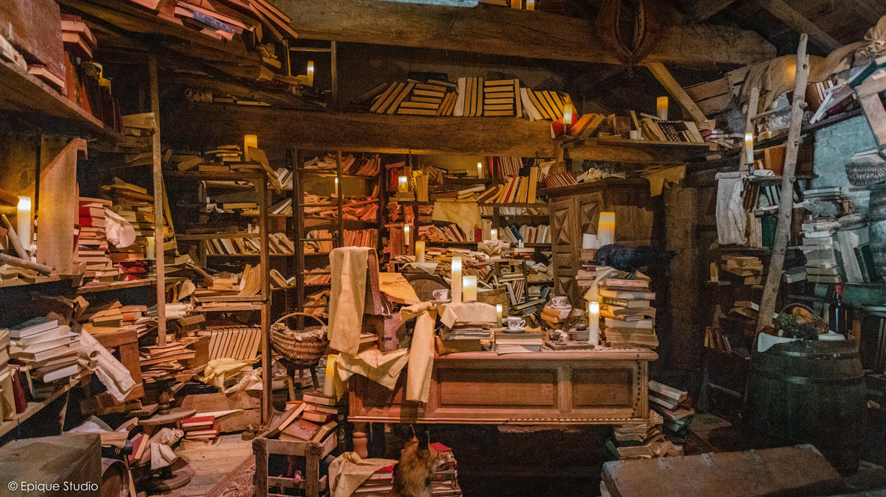 Bibliothèque du XVIIème