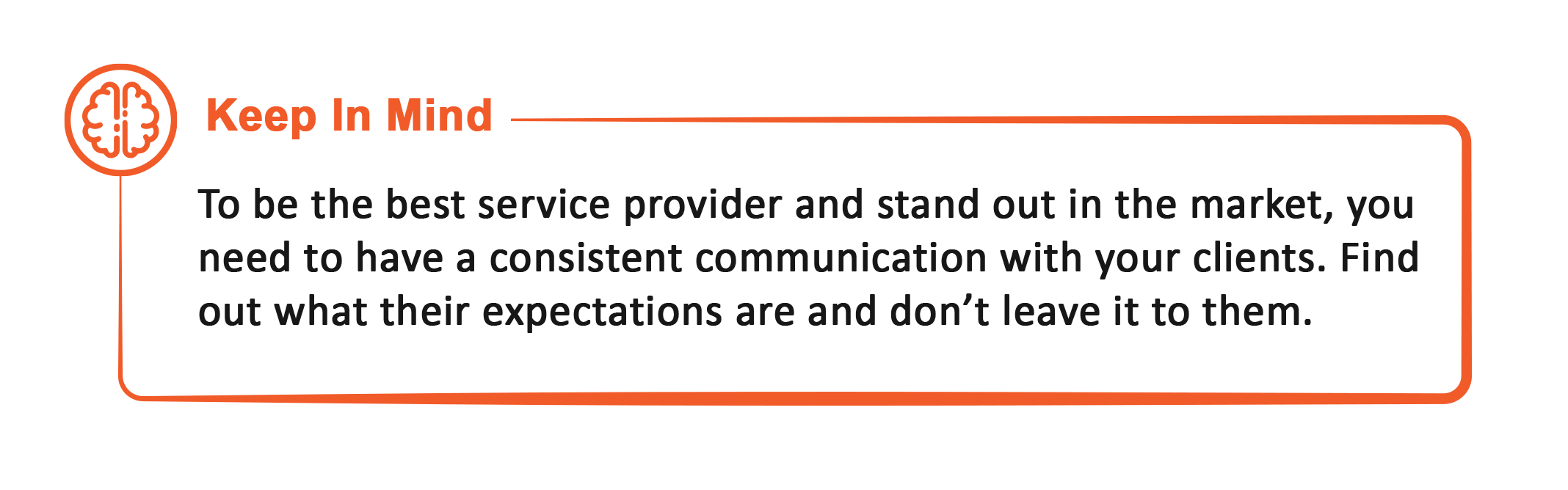 challenges of service providers, communication in service industry
