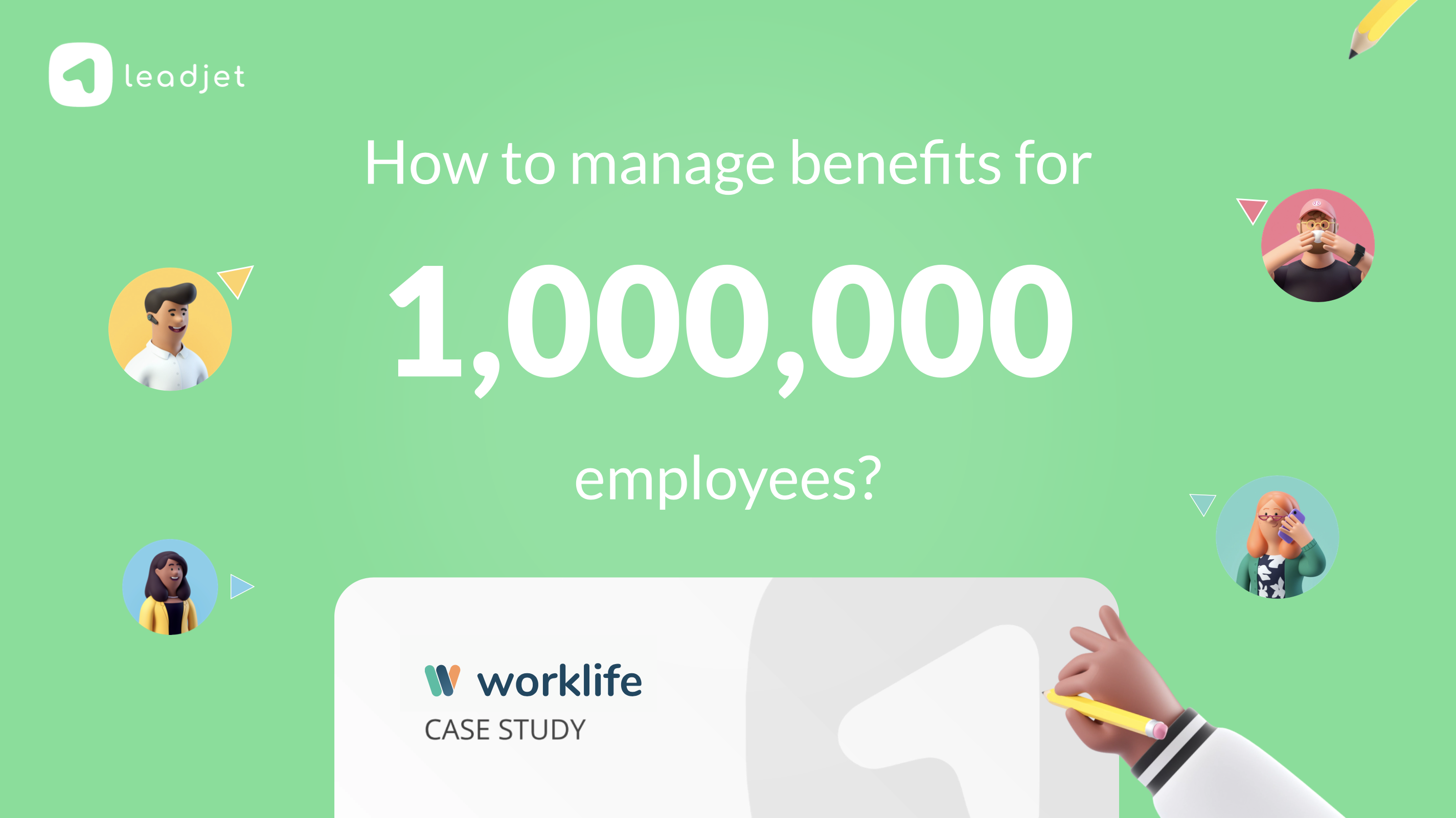 How Worklife closed deals with large clients (all online) by optimizing social selling