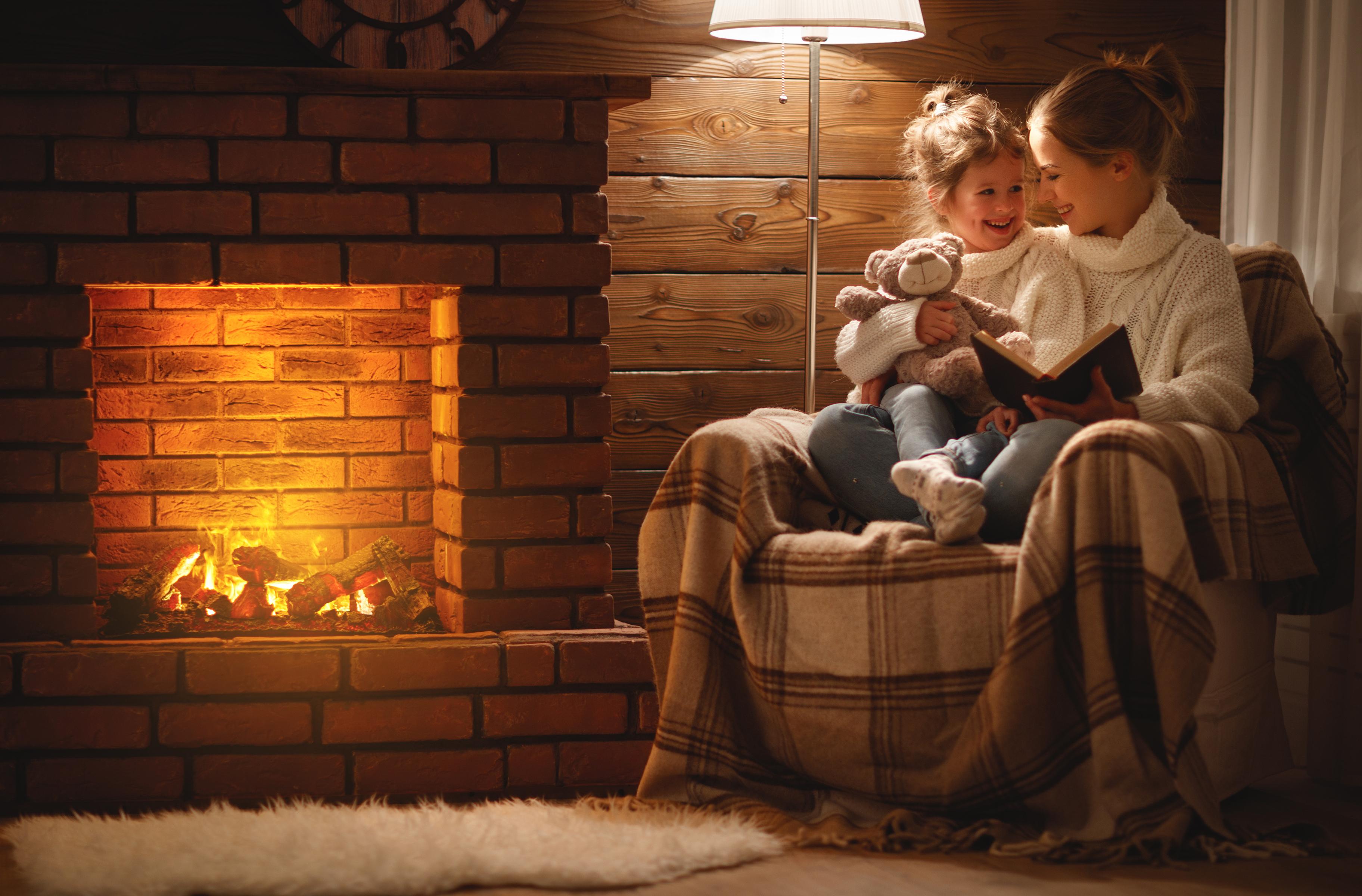 Entspannung Pur bei komfortabler Temperatur dank Kamin und zentral geregelter Fußbodenheizung