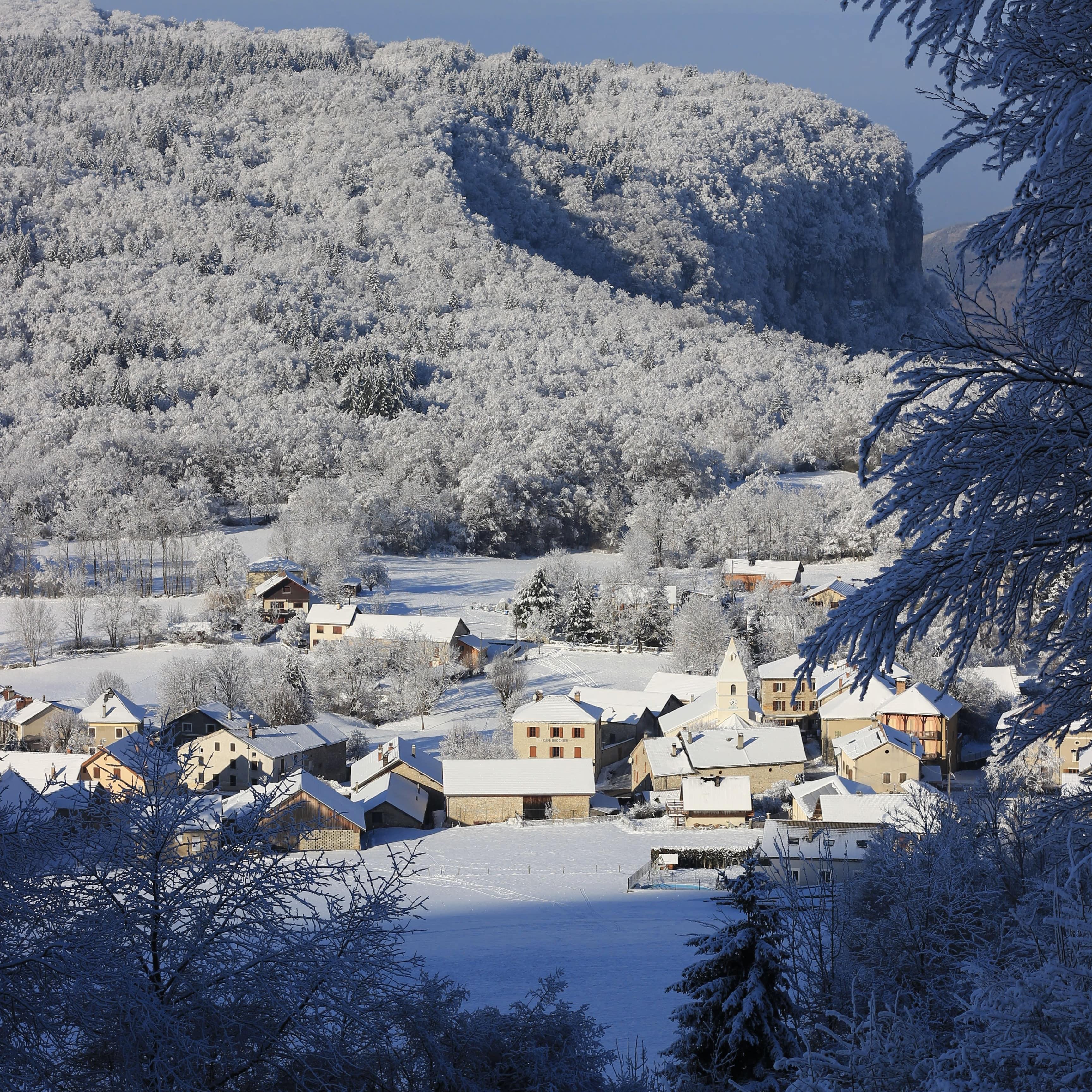 Saint Julien en Vercors Neige