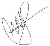 Sarah Ahmed electronic signature