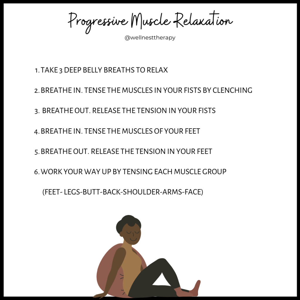 Progressive Muscle Relaxation exercise
