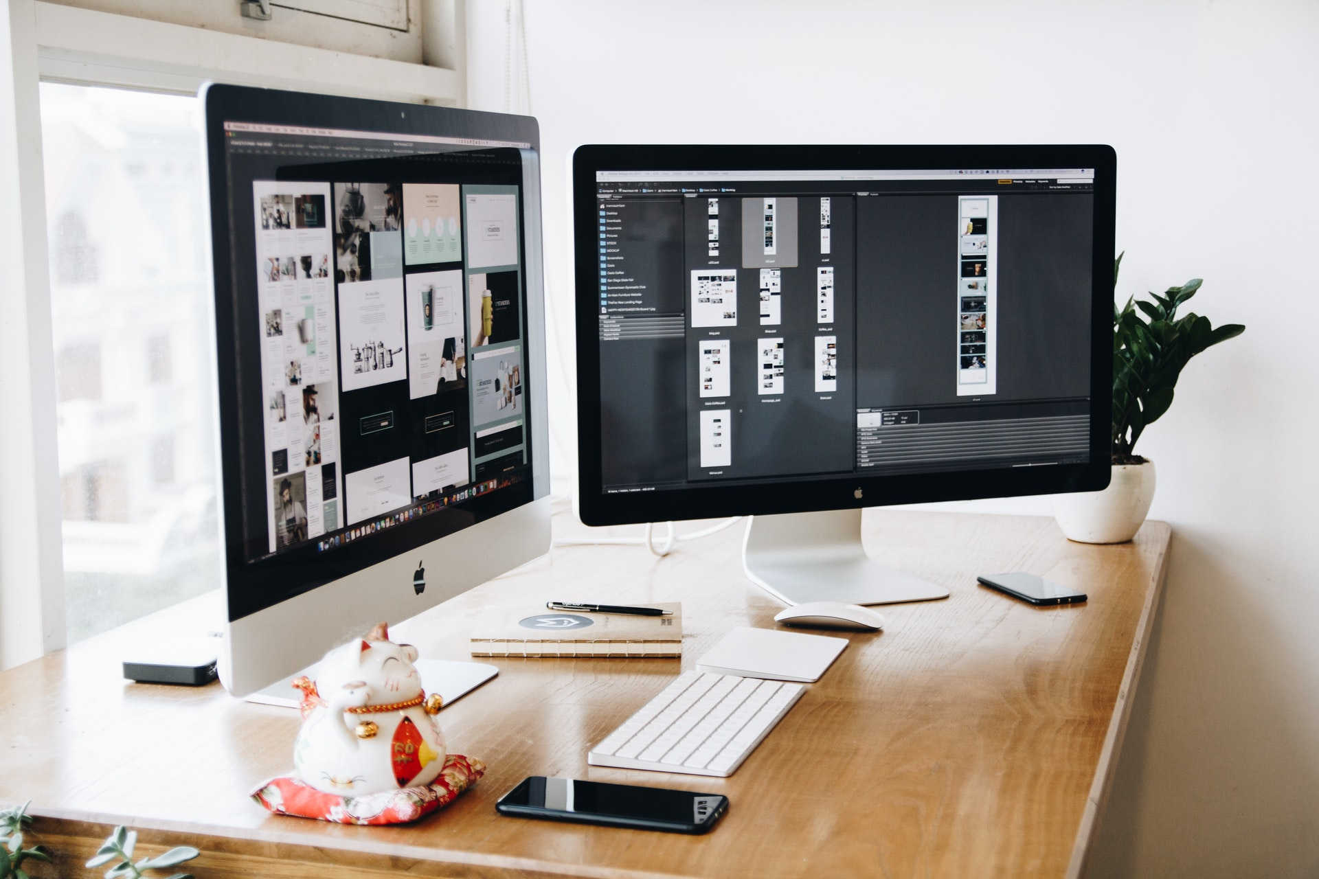 We help build out your website from start to finish and make sure you love it before it goes into development.