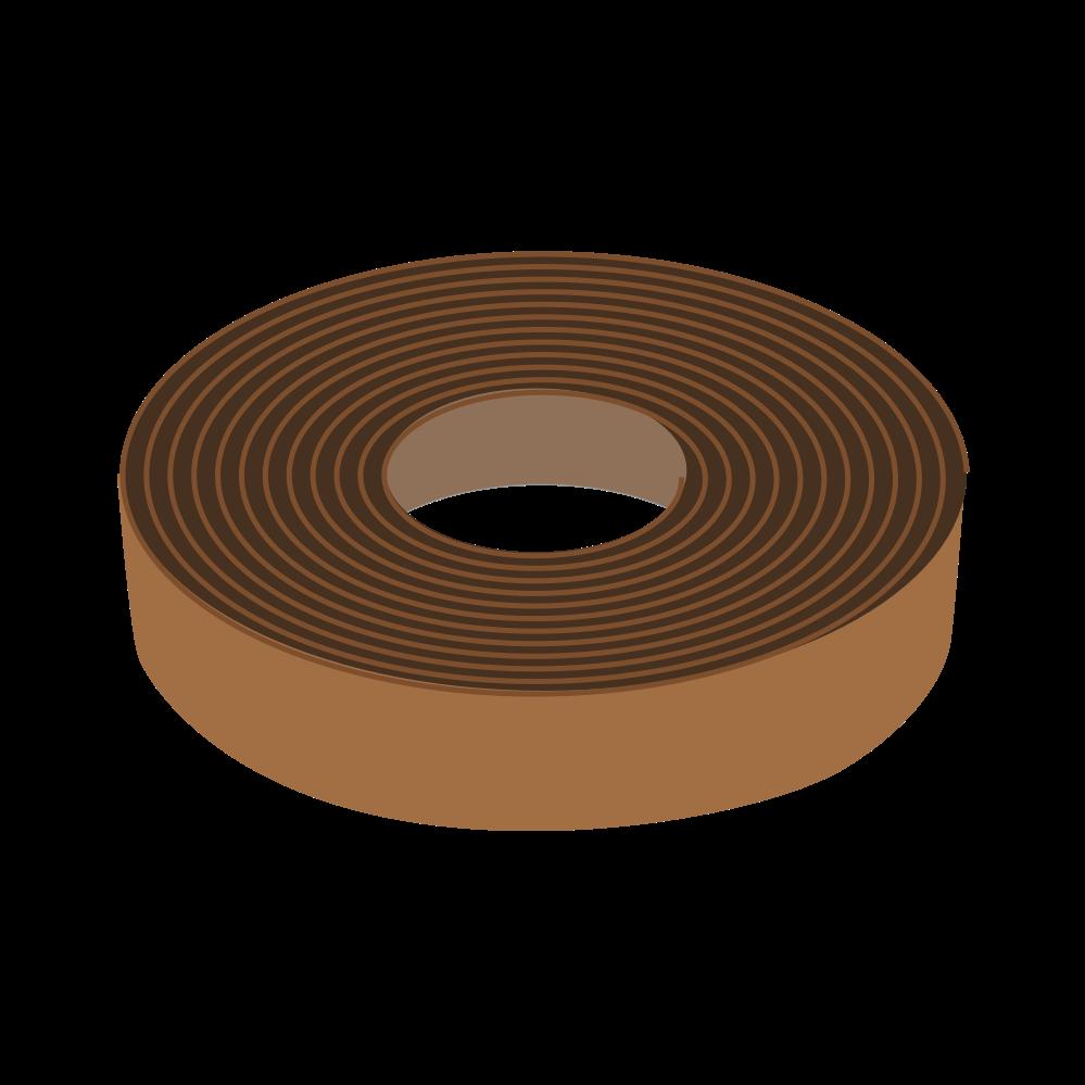 Norm gerechte Ausbildung von Randfugen nicht beheizter Estriche, ökologischer Randstreifen mit nachwachsenden Rohstoffen , und einer Dicke von 5 mm mit Wasser abweisender Wachsschicht.