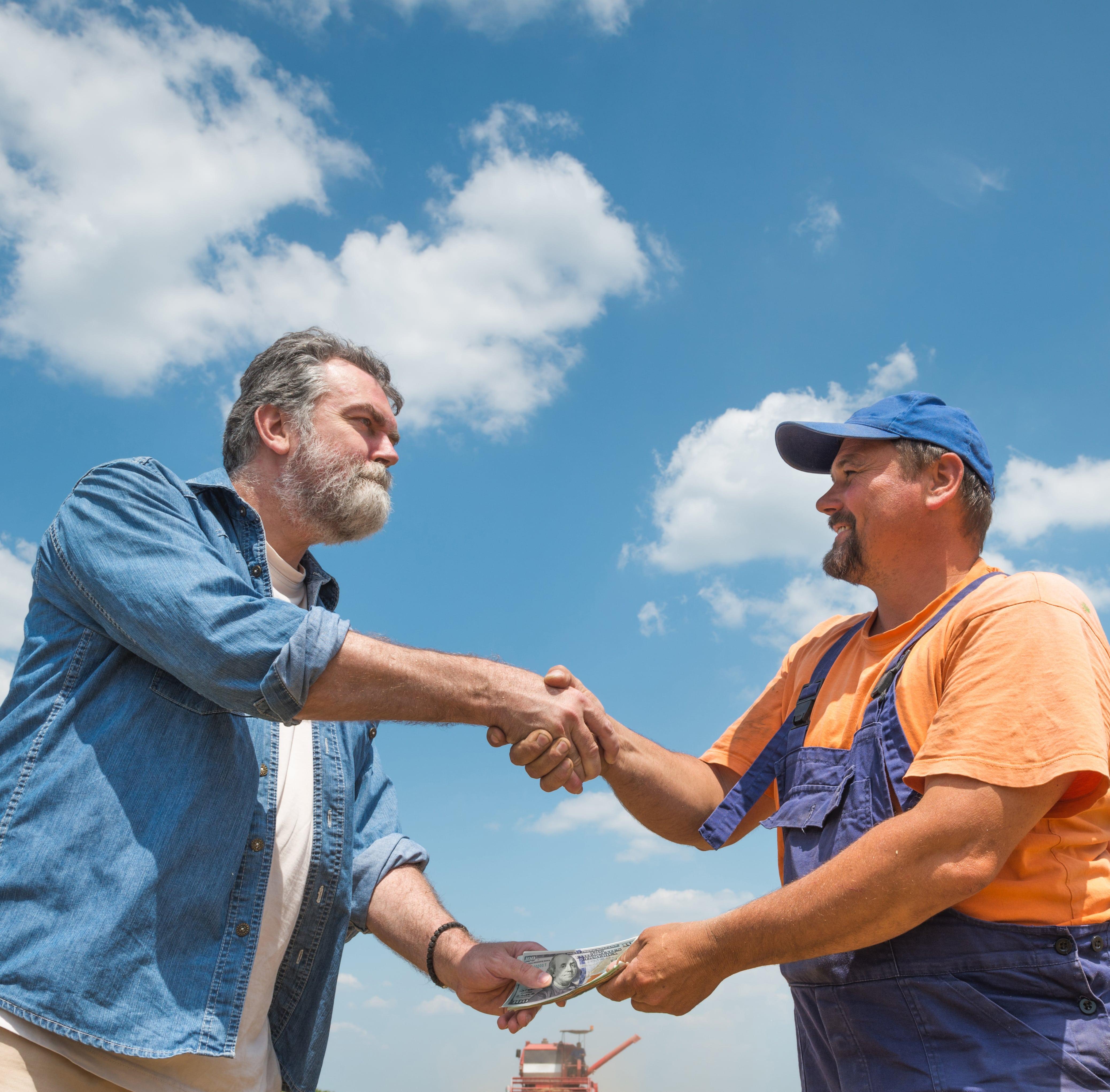 farmers strike a deal for sesame seeds