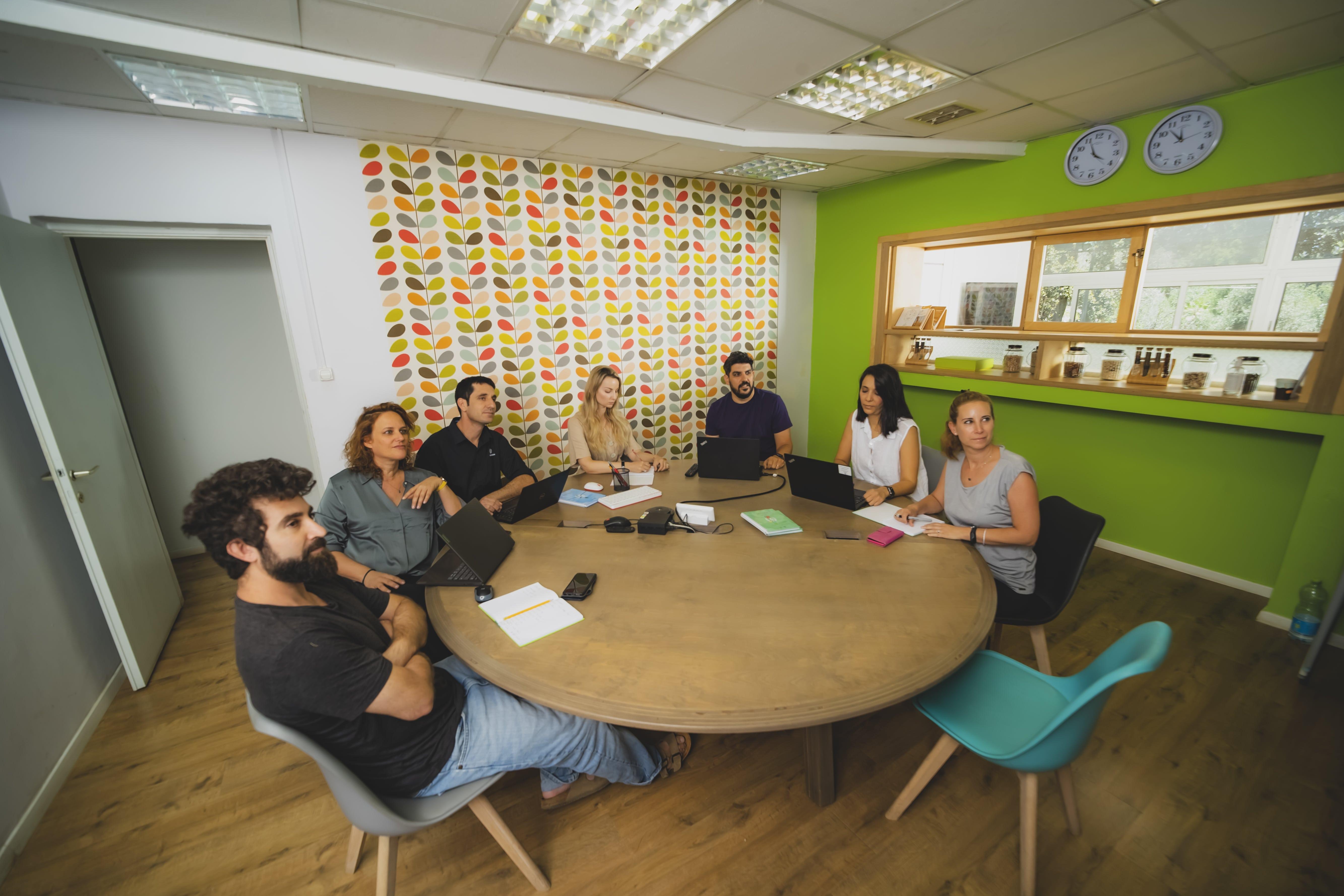 Small team feel in a big team environment