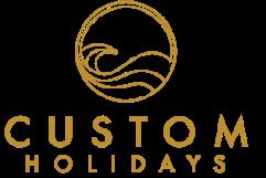 Custom holidays main logo