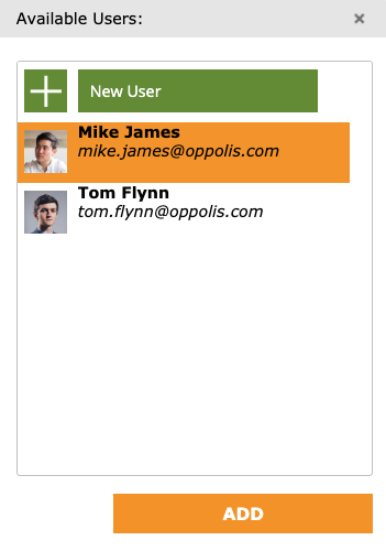 GoProof Add User